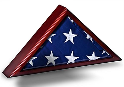 Funeral Flag Display Case