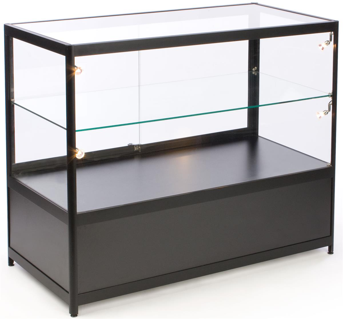 #377B75 Glass Counter Locking Storage Base W/ Black Lights with 1200x1116 px of Most Effective Glass Display Cases Amazon 11161200 wallpaper @ avoidforclosure.info