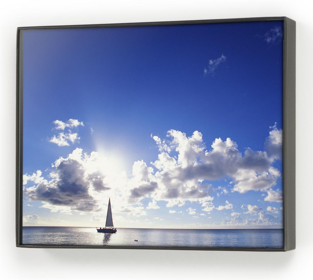 These picture frames are made of black plastic and can be for 11x14 table top frame