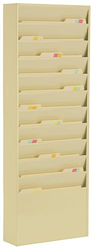 Wall File Holders Include 11 Pockets