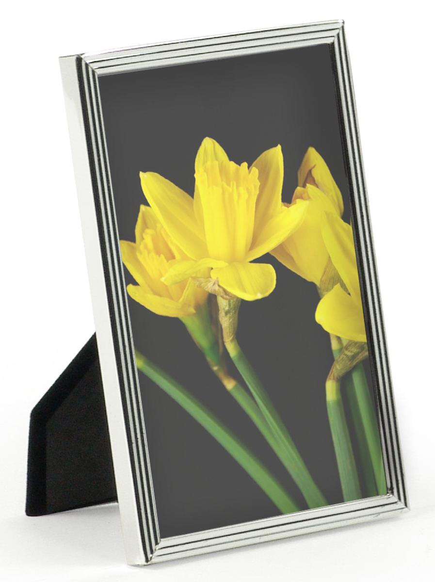 Silver Plated Picture Frame For 4