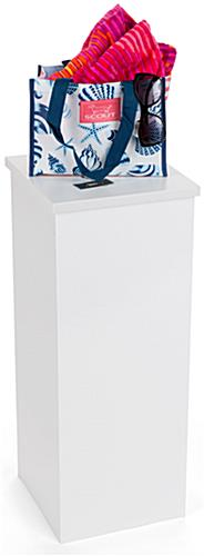 White Portable Pedestal