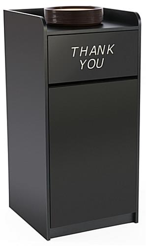 Thank You Trash Can Fits Most 36 Gallon Receptacles