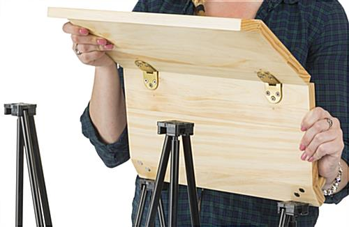 Hinged Portable Lectern