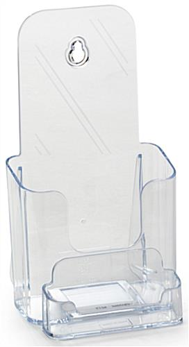 Plastic Brochure Holder for 4x9 Literature