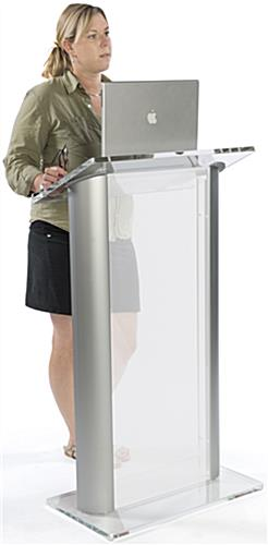 Frosted Plastic Lectern for Schools
