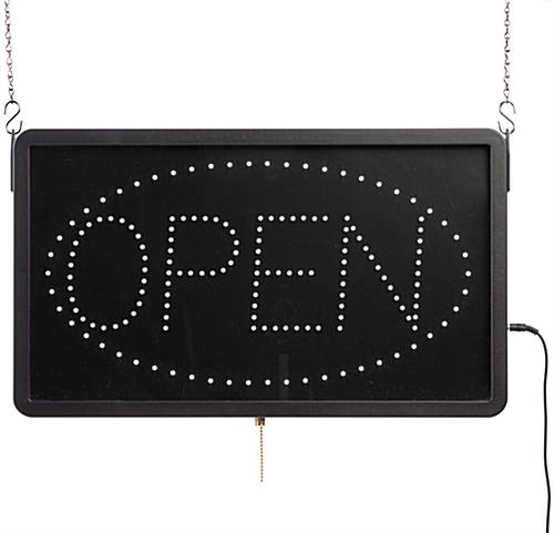 LED Open Sign That Is Highly Visible