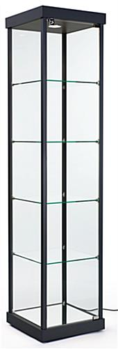 LED Tower Display Case, Weighs 150 lbs