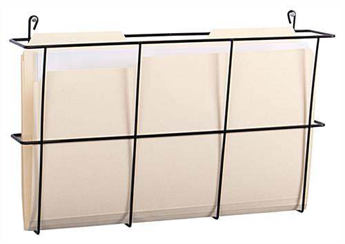 Cubicle Wall File Included Hooks For Placing Over Workstation Partitions