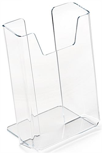 "Transparent Brochure Holders, 6"" Overall Height"