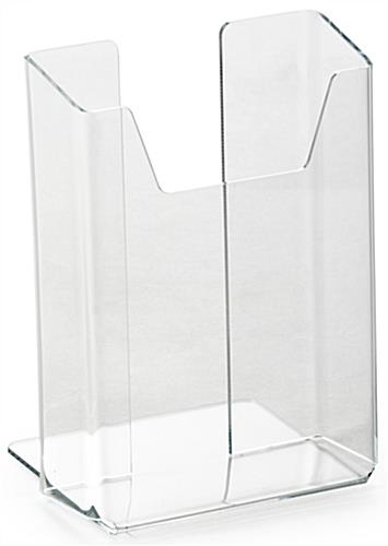 Frameless Angled Brochure Holder