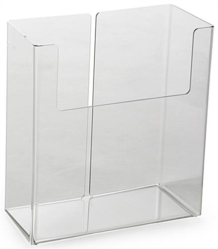 Clear Rectangular Magazine Holder