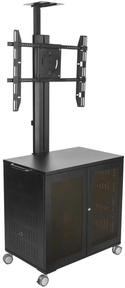 Rolling TV Stands with Wheels | Mobile Racks for Flat Screens