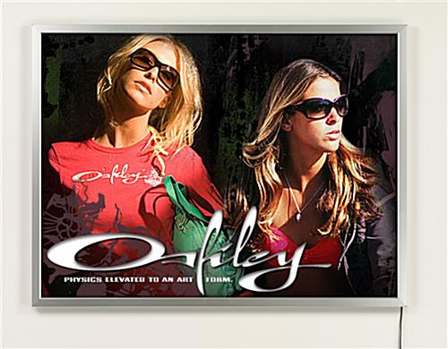 22 x 28 Illuminated Poster Frame