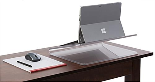 Acrylic Laptop Riser for Desks