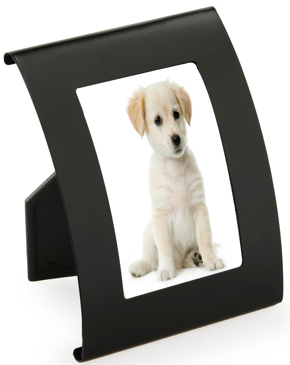 Small black photo frames acrylic lens for 11x14 table top frame
