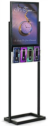 "18"" x 24"" Poster Display Stands: With Four Acrylic Pockets"