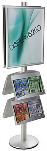 22x28 4 Pocket Poster Stand with Aluminum Build