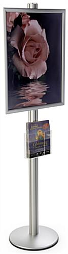 22x28 Snap Poster Frame with Acrylic Pocket, Silver Finish