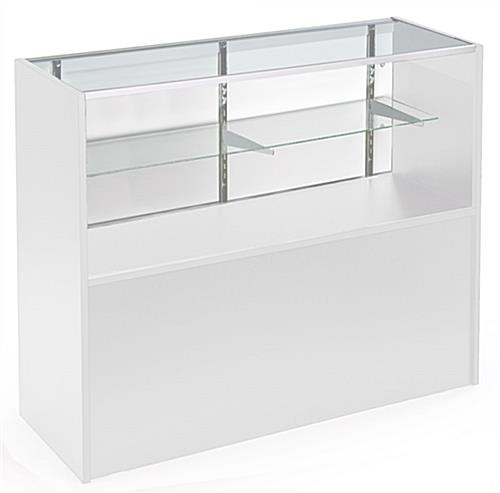 Solid White Display Case