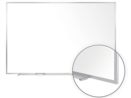 White Magnetic Dry Erase Board with Porcelain Surface