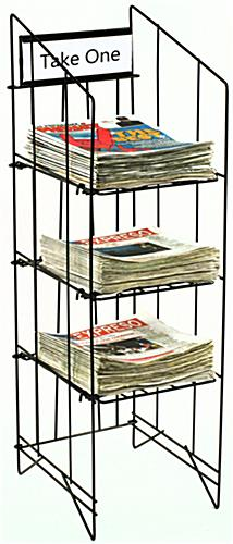 Newspaper Racks for Tabloids