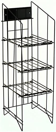 Black Wire Newspaper Racks