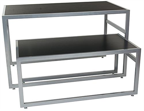 Store tables steel nesting furniture for Furniture and fixtures