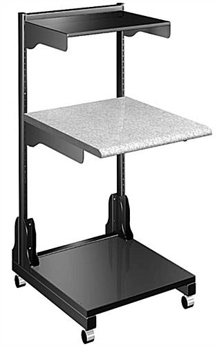 Medical Laptop Cart with 1200lb Load Capacity