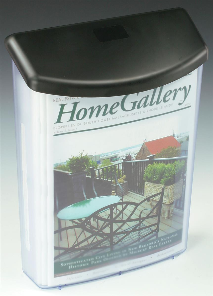 Outdoor Brochure Holder | Literature Box Dispenser for Real Estate Use