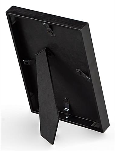 black metal photo frame
