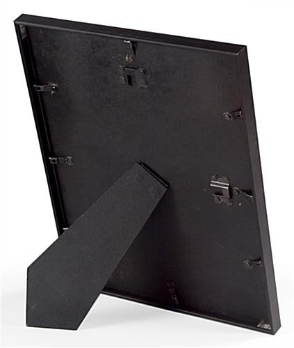 Black Picture Frame Aluminum Construction With Mat Board