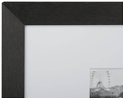 This Picture Frame Features Classic Black And White