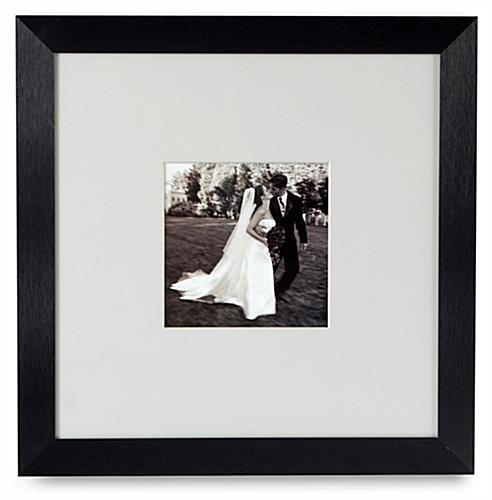 "Modern Picture Frame: Matted To 5"" x 5"""