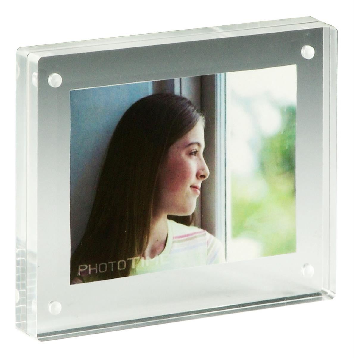 Acrylic Block Frames | Frameless Tabletop Photo Holders