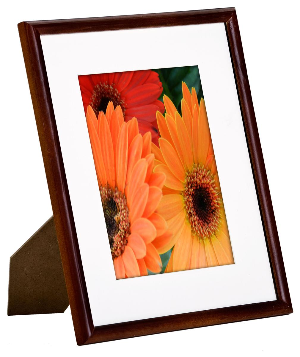 8 X 10 Mahogany Photo Frames Made Of Real Wood