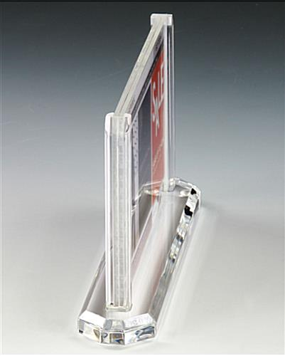 This Picture Frame Is Made Of Durable Clear Acrylic And Is