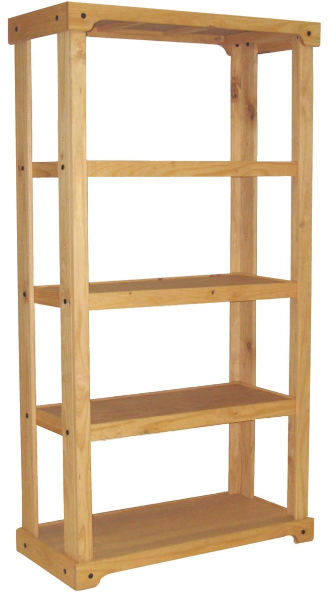 Commercial Wooden Storage Display Stand 72 Quot X18 Quot Freestanding