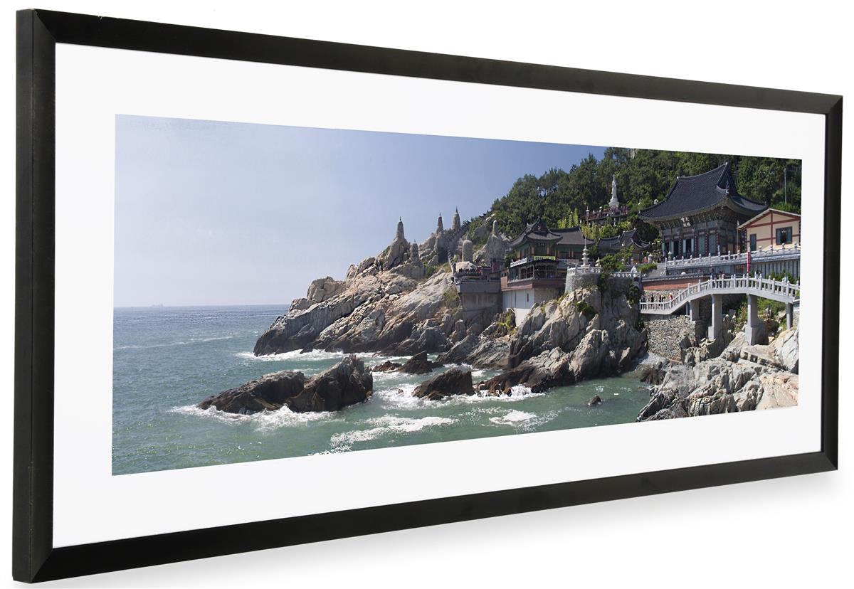 Matted Panoramic Photo Frame 36x12 Graphics