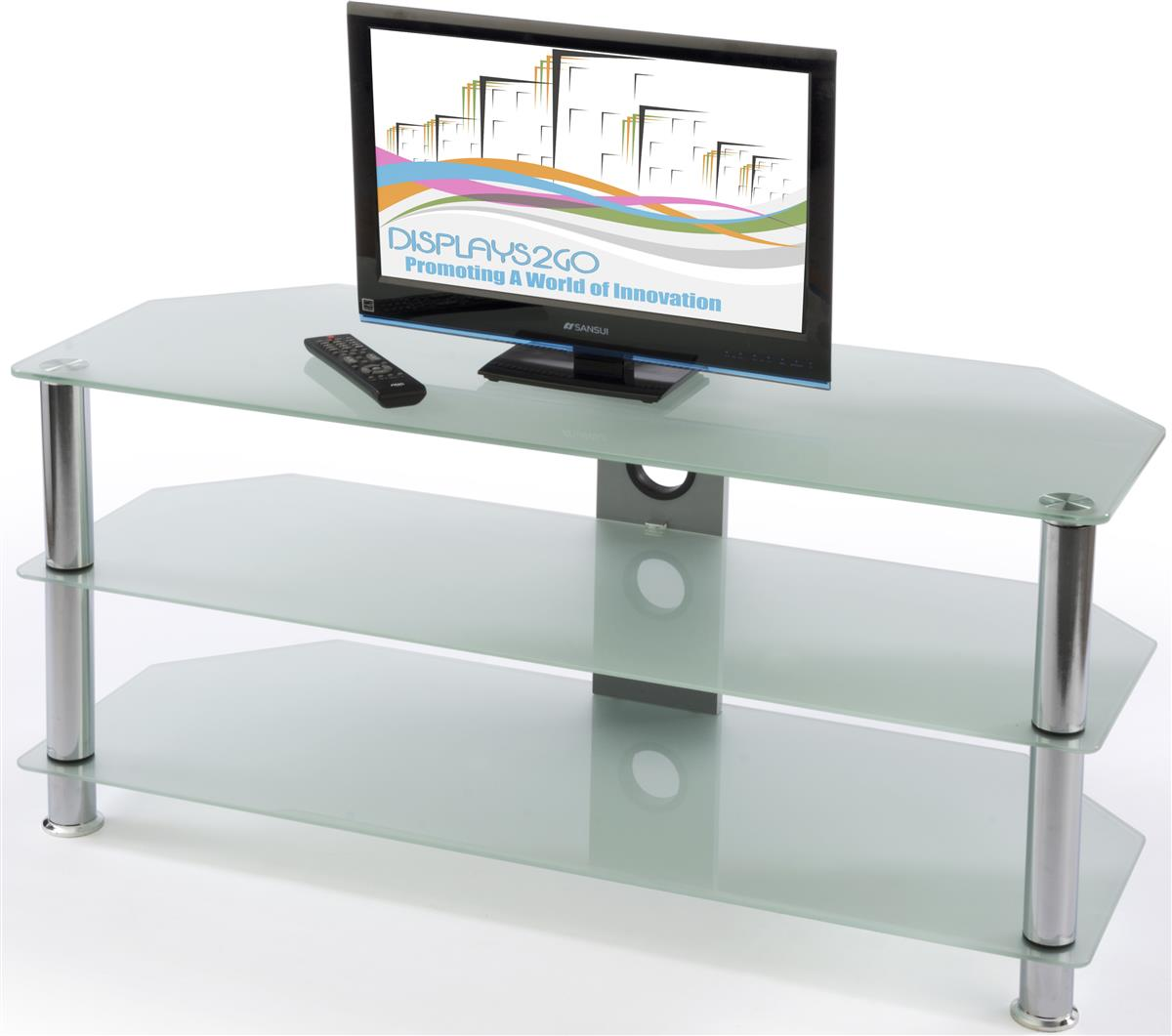 glass tv stands entertainment centers for homes. Black Bedroom Furniture Sets. Home Design Ideas