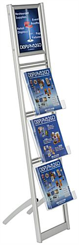 Floor Standing Collapsible Magazine Stand