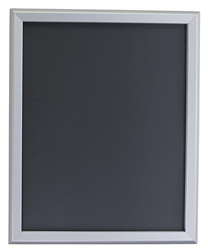Contemporary Silver 16 x 20 Snap Frame