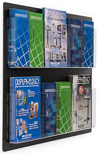 Acrylic Wall Mount Brochure Holders