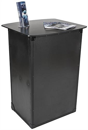 Portable Countertop Cabinets With Inserts : Portable countertops with locking cabinet wheels in base
