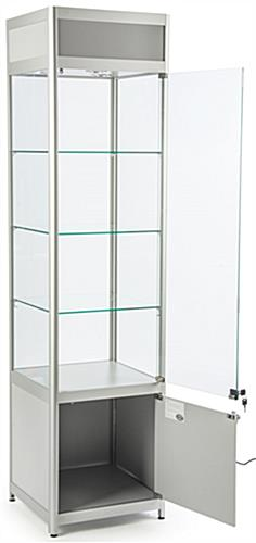 "Light Up Retail Tower, 16.5"" Shelf Width"