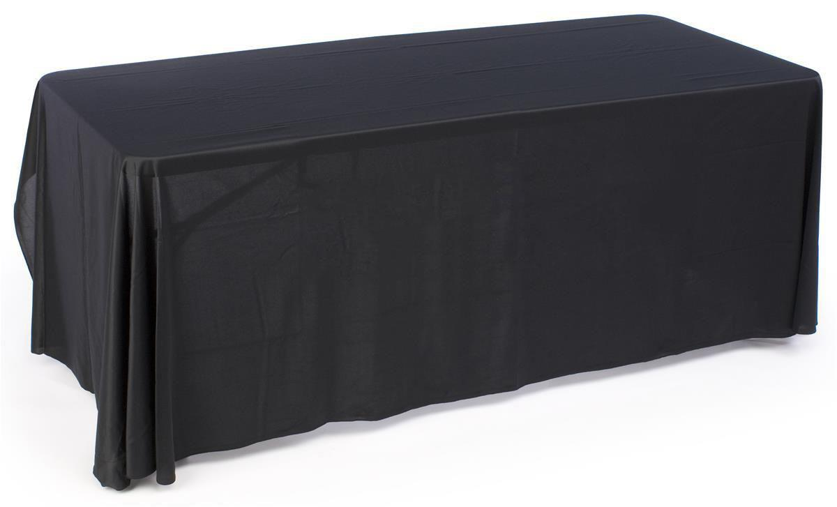 This Inexpensive Table Skirt Is A Three Sided Throw For Events! The Unique  Design Allows For Seating Behind Booths! Buy A Professional Grade Table  Skirt For ... Part 49