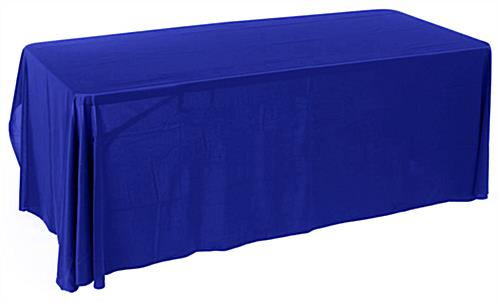 6ft. Economy Table Cover Royal Blue