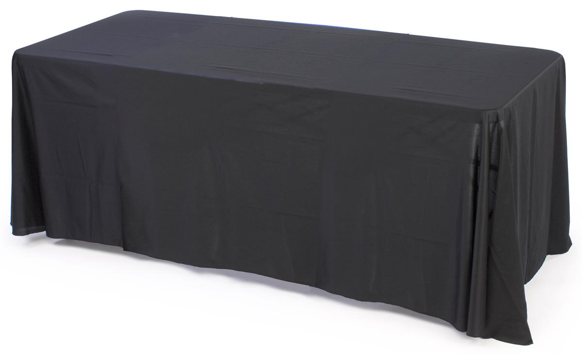 This In Stock Table Skirt For 8 Foot Surfaces Is Subtle