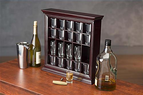 Shot Glass Cabinet