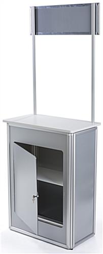 Lightweight Promotional Counter with Carry Bag